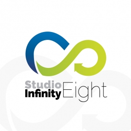 Infinity Color 8 Eight Logo
