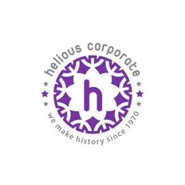 Creative Floral Border Logo