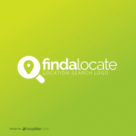 Search Map Location Finder Logo