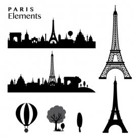 Paris Elements Skyline & Eiffel Tower