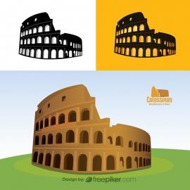Colosseum Amphitheatre Rome