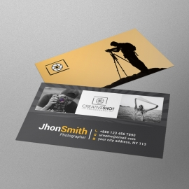 Profational Photography Business Card