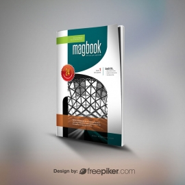 Magazine & Brochure Cover Mockup