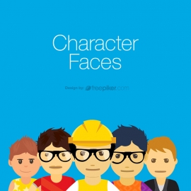 Character People Faces