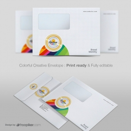 Clean Corporate Creative Envelope B5