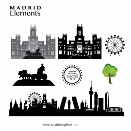 Madrid Elements Skyline & Cybele Palace Madrid Travel