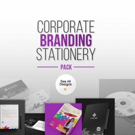 Corporate Branding Identity Stationery Pack