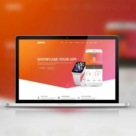 Responsive Laptop Device Screen Mockup for Web Showcase
