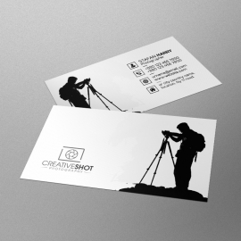 Corporate Photography Business Card