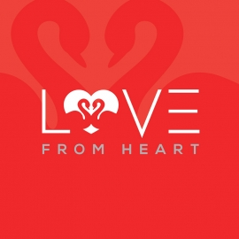 Love From Heart Creative Logo