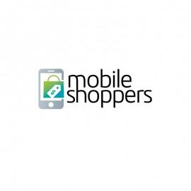 Mobile Shopping Online Shop E-commerce Logo