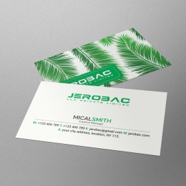 Corporate Leaf Business Card