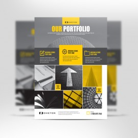 Portfolio & Product Showcase Flyer