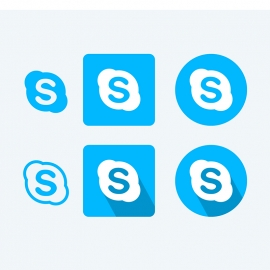 Skype Vector Icons Vector Icons