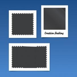 Polaroid & Stamp Photo Frame / Film