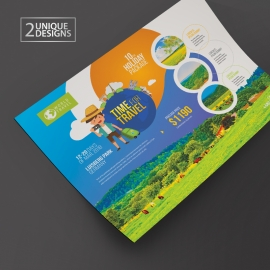 Travel & Tour Creative Flyer
