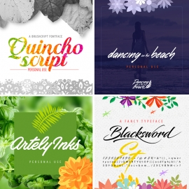 Font Preview Creative Mockup Designs