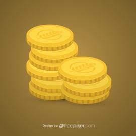 Golden Coins Icon