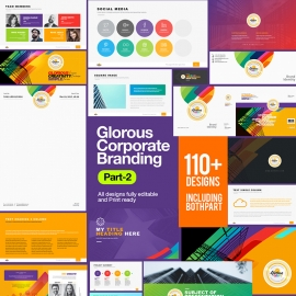 Glorious Corporate Business Branding Indentity Stationery Pack Part 2
