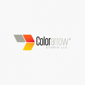 Creative Colorful Arrow Logo