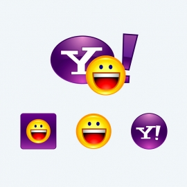 Yahoo Messenger Vector Icons