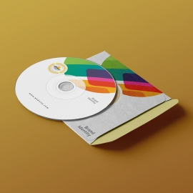 Colorful Creative & Clean Corporate CD Package Template