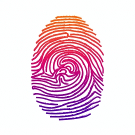 Fingerprint Thumb Vector