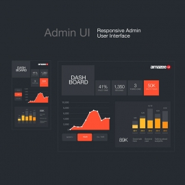 Admin UI  Responsive Admin User Interface