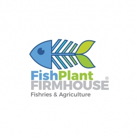 Finisheries & Agriculture Fish Plan Symbol Logo