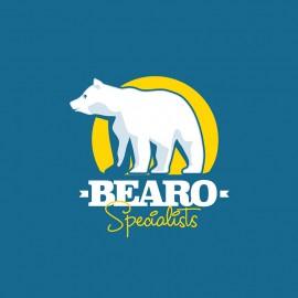 White Bear Animal Logo