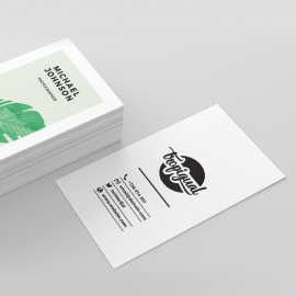 Tropical Creative Business Card