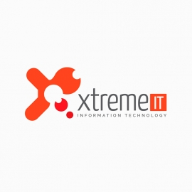 Xtreme Technologycan IT Logo Template