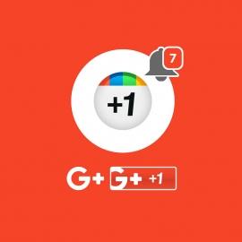 Google Plus - Google +1 Conceptual Vector