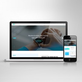Responsive Screen Web Showcase Mockup
