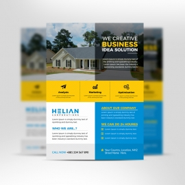 Housing Corporation Business Flyer