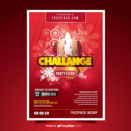 Challange Party Flyer