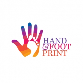 Handprint & Footprint Logo