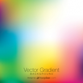 Bright Vector Gradient Background