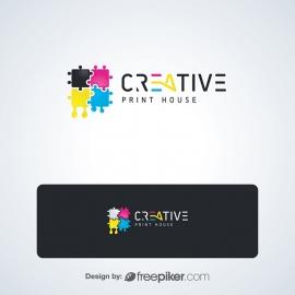 Creative Print Industry Logo