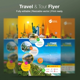 Travel & Tour Flyer