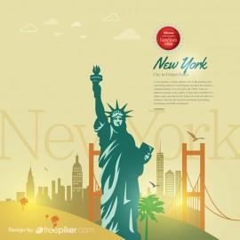 New York Skyline & Cityscape
