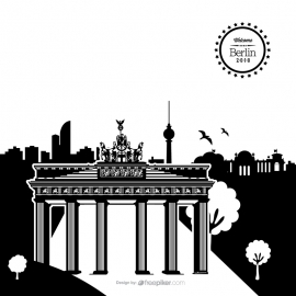 Berlin Cityscape Vector
