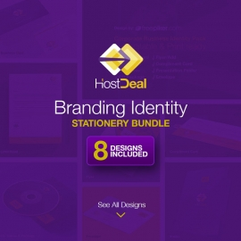 Hosting Studio Logo & Corporate Business Identity Pack