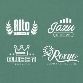 Minimal & Retro Logo Desigs