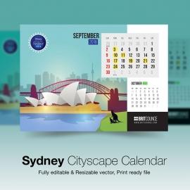 Sydney Cityscape Calendar
