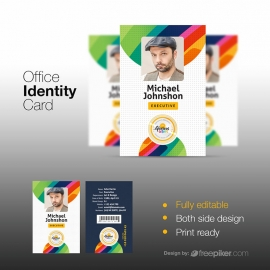Creative Office Identity Card