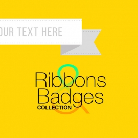 Ribbons & Badges | Retro Banners