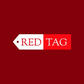 Red Tag Minimal Logo