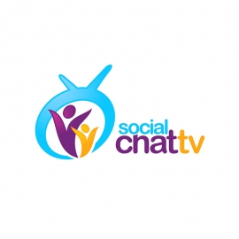 Social Media Chating TV Logo