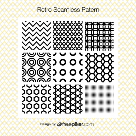 Retro Seamless Pattern | Illustrator Add-ons Pattern